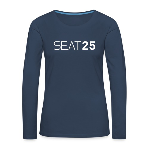 Seat25 Logo Light - Women's Premium Longsleeve Shirt