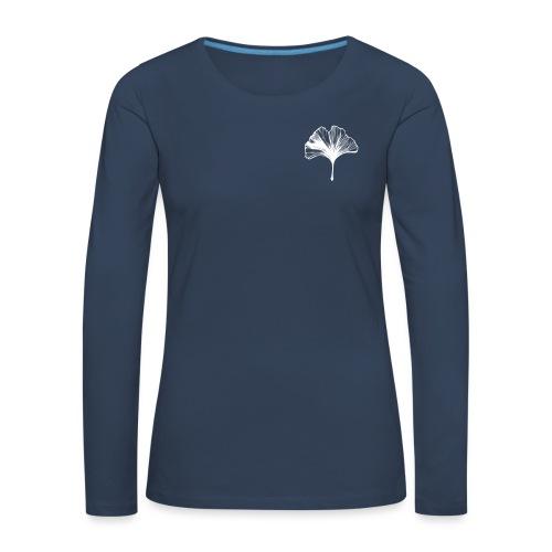 GinkGO - Koszulka damska Premium z długim rękawem