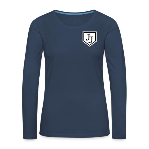 JJ logga - Långärmad premium-T-shirt dam