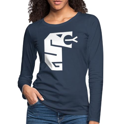 Snake totem - Långärmad premium-T-shirt dam