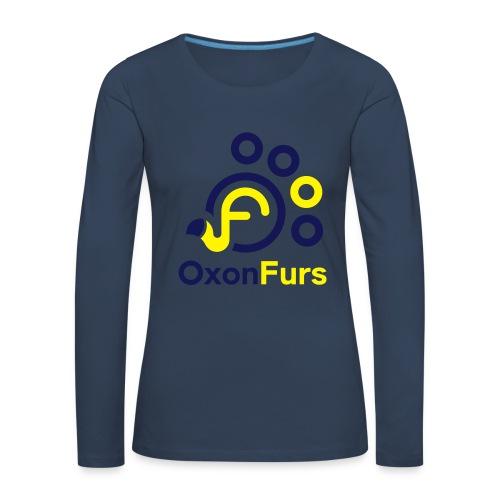 OxonFurs Logo - Women's Premium Longsleeve Shirt