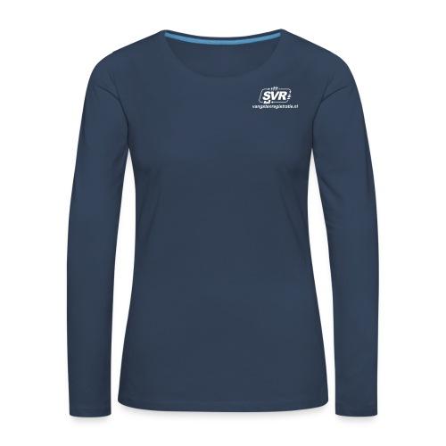 SVR webshop - Vrouwen Premium shirt met lange mouwen