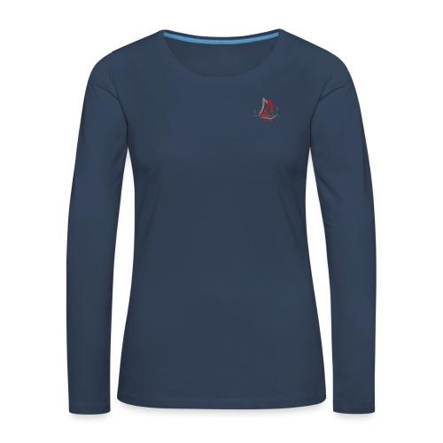 Free3 Aided Sailing System - Maglietta Premium a manica lunga da donna