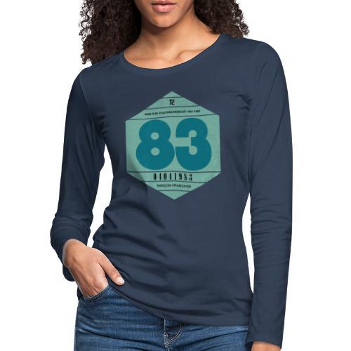 Vignette automobile 1983 - T-shirt manches longues Premium Femme