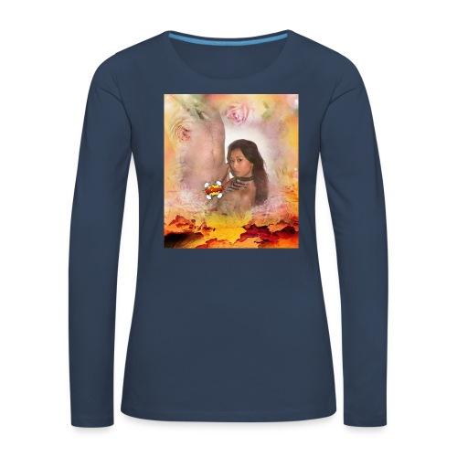 Herbstsinfonie - Frauen Premium Langarmshirt
