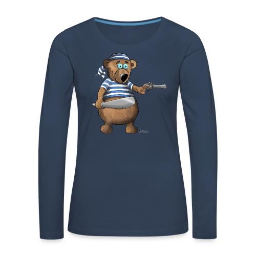 Pirat - Frauen Premium Langarmshirt