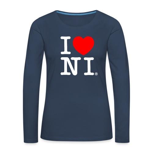 I love NI - Women's Premium Longsleeve Shirt