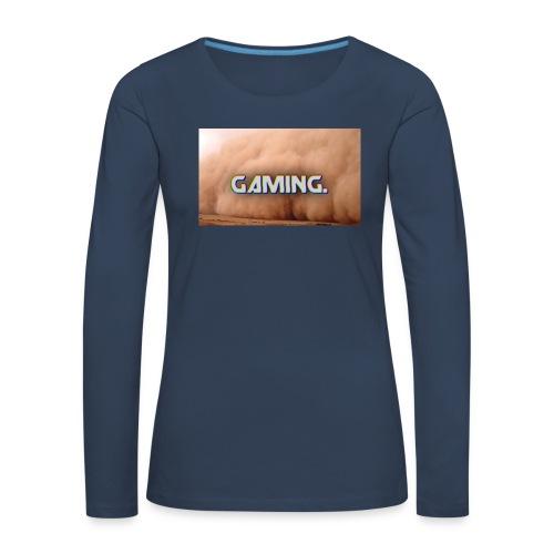GamingDust LOGO - Women's Premium Longsleeve Shirt