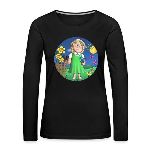 Naturliebhaber - Frauen Premium Langarmshirt