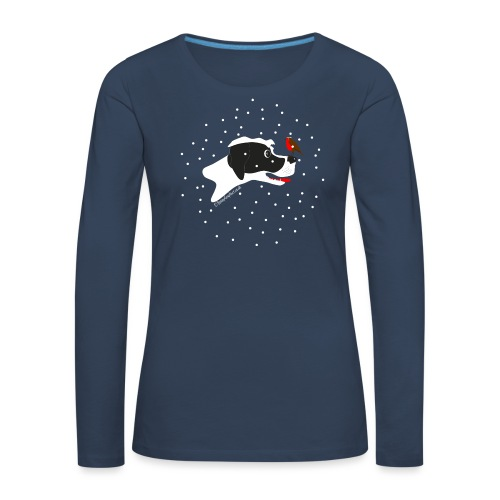 English pointer robin - Women's Premium Longsleeve Shirt