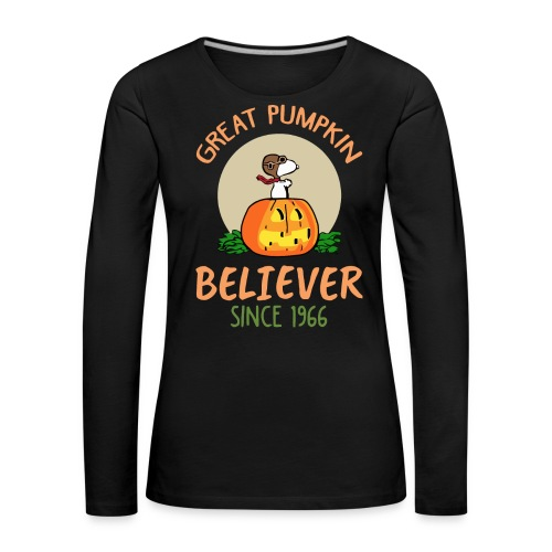 Great pumpkin believer since 1966 - Women's Premium Longsleeve Shirt