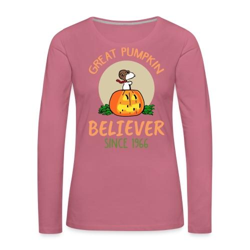 Great pumpkin believer since 1966 - Women's Premium Longsleeve Shirt