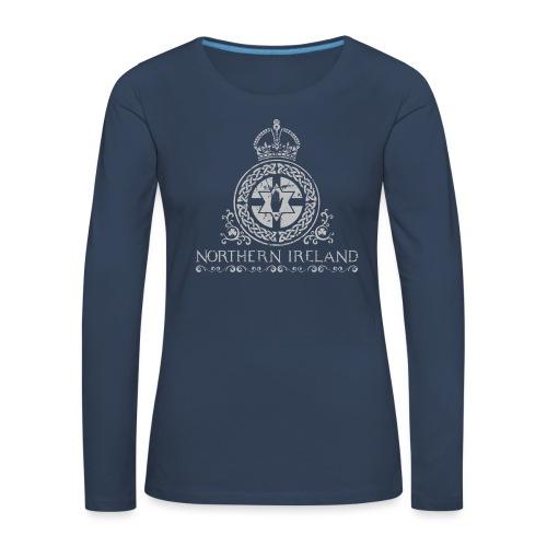 Northern Ireland arms - Women's Premium Longsleeve Shirt