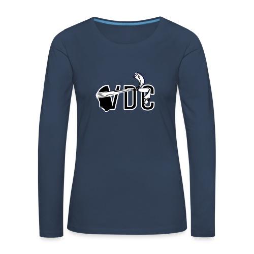 Voce di Corsica logo 2 - T-shirt manches longues Premium Femme