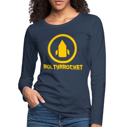 Bolt Ya Rocket - Women's Premium Longsleeve Shirt