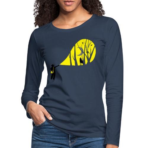 Explorateur vie sauvage - T-shirt manches longues Premium Femme