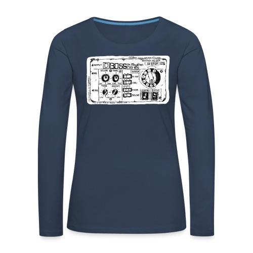 Drum Machine's R Ace! - Women's Premium Longsleeve Shirt