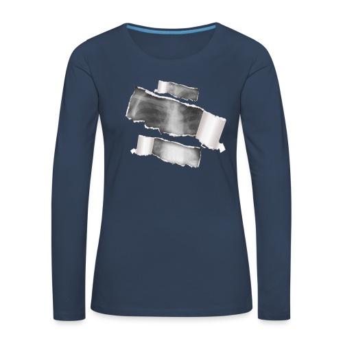 Chest X-Ray - Maglietta Premium a manica lunga da donna