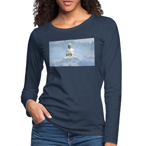 Buddha with the sky 3154857 - Women's Premium Longsleeve Shirt