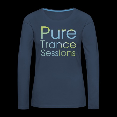 PureTrance100 transparantGROOT kopie png - Women's Premium Longsleeve Shirt
