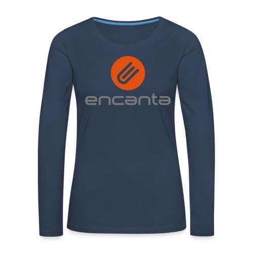 Encanta_Logo_Vector - Camiseta de manga larga premium mujer