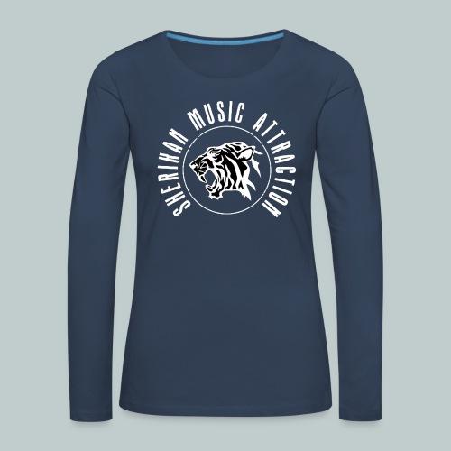The Sherikan Music Attraction logo - Långärmad premium-T-shirt dam