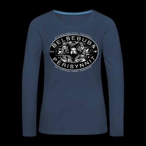 Belsebub&Perisynnit - Naisten premium pitkähihainen t-paita