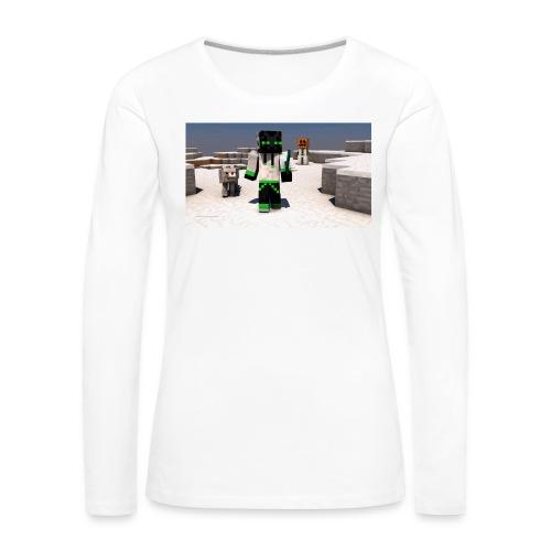 t-shirt - Långärmad premium-T-shirt dam