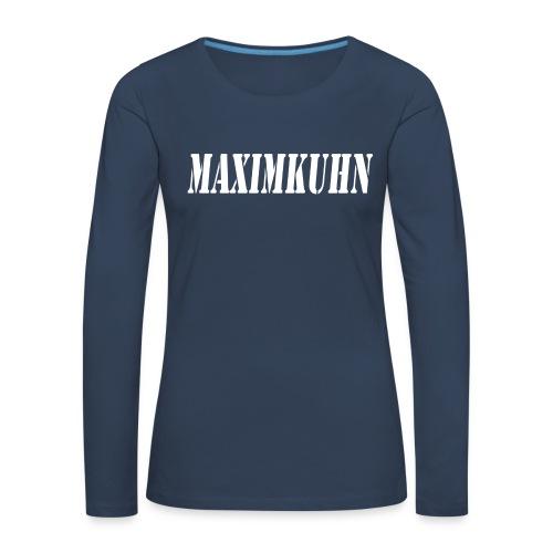 maximkuhn - Vrouwen Premium shirt met lange mouwen