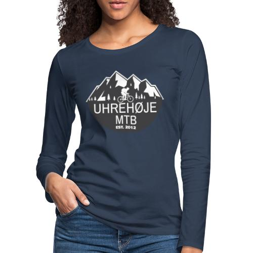 UhreHøje MTB - Dame premium T-shirt med lange ærmer