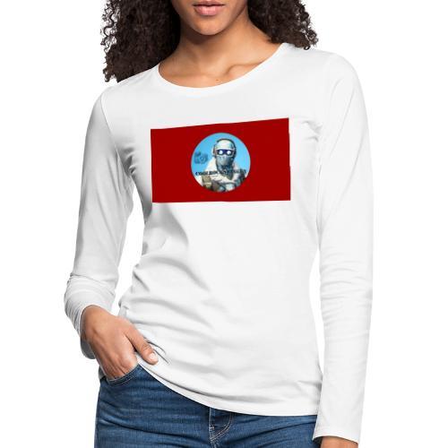 Match 2.0 - Långärmad premium-T-shirt dam