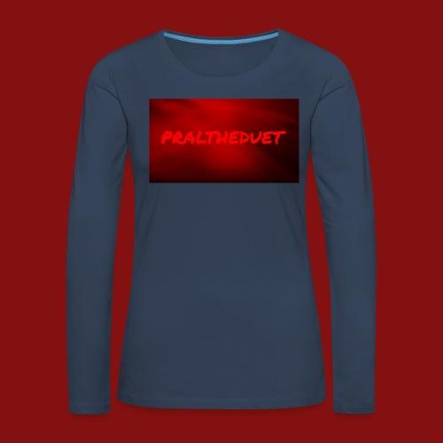 My Post 6 - Långärmad premium-T-shirt dam