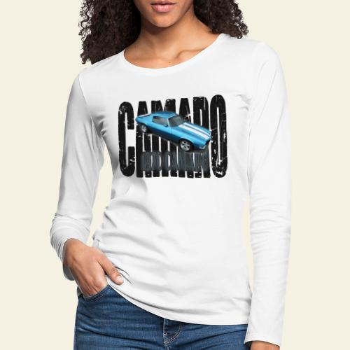 70 Camaro - Dame premium T-shirt med lange ærmer