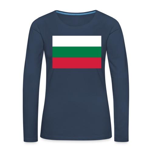 Bulgaria - Vrouwen Premium shirt met lange mouwen