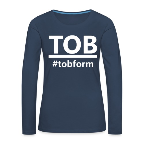 #tobform T-Shirt - Frauen Premium Langarmshirt