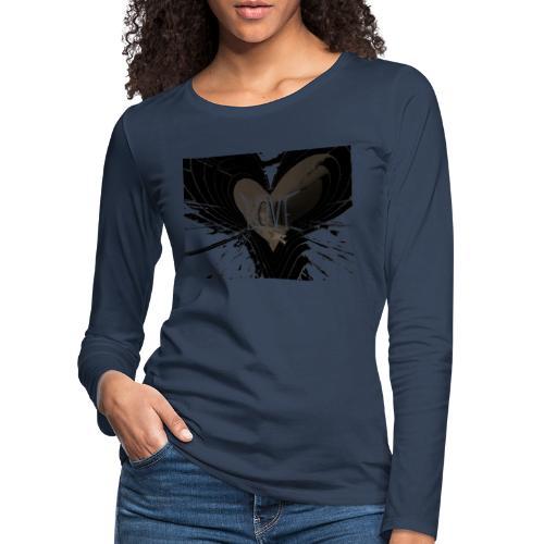 explosion d amour - T-shirt manches longues Premium Femme