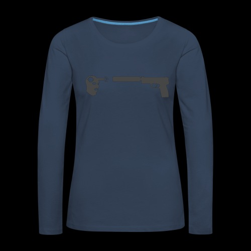 csgo usp headshot - Långärmad premium-T-shirt dam