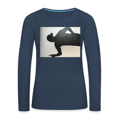 Zlatan - Långärmad premium-T-shirt dam