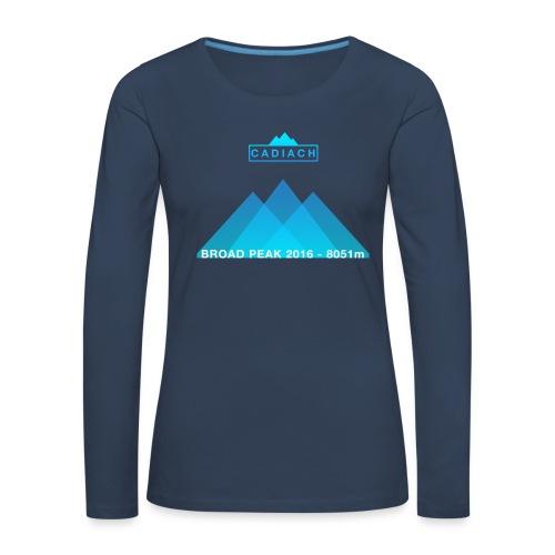 Cadiach Broad Peak 2016 - Mujer - Camiseta de manga larga premium mujer