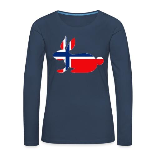 norwegian bunny - Women's Premium Longsleeve Shirt