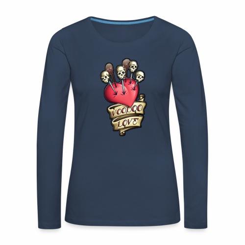 AMOR VOODOO - Camiseta de manga larga premium mujer