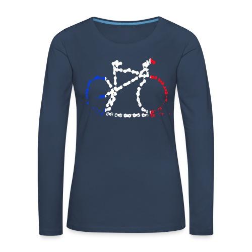 French bike chain - Women's Premium Longsleeve Shirt