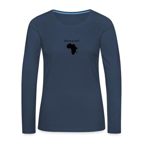 lost my soul in africa - Frauen Premium Langarmshirt
