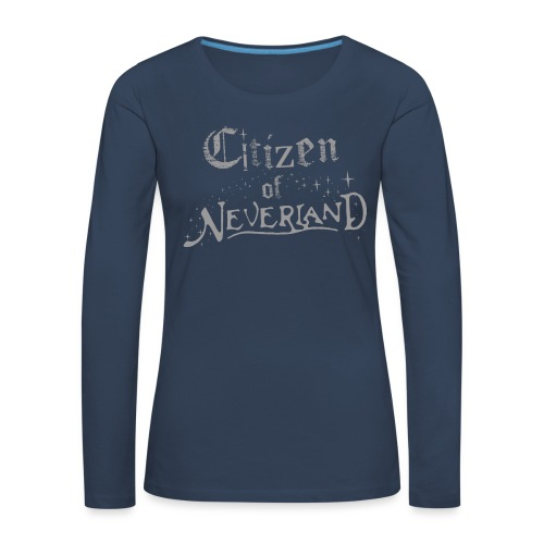 Citizen of Neverland - Women's Premium Longsleeve Shirt