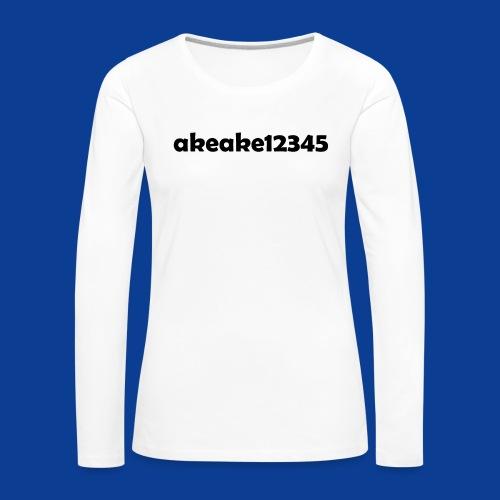 Shirts and stuff - Women's Premium Longsleeve Shirt