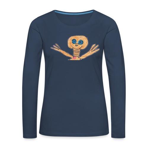 E.T. von Raban - Frauen Premium Langarmshirt