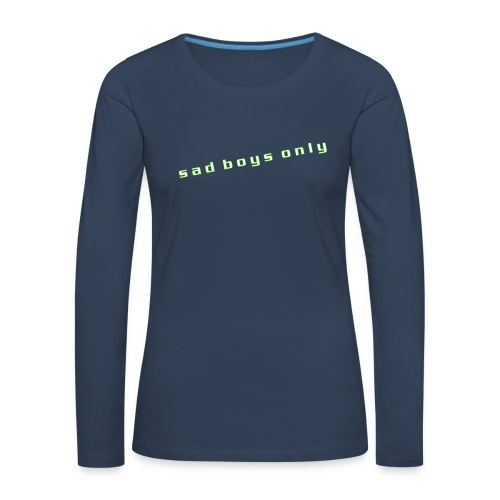 only_sad - Women's Premium Longsleeve Shirt
