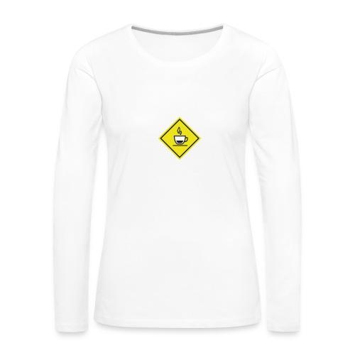 KAFFÈÈ?! by Il Proliferare - Maglietta Premium a manica lunga da donna