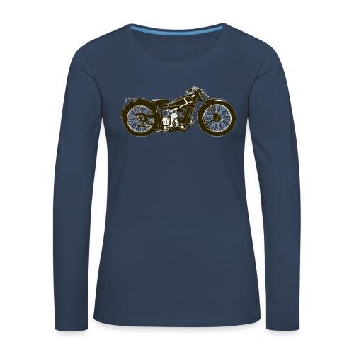 Classic Cafe Racer - Women's Premium Longsleeve Shirt