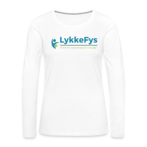 Lykkefys Esbjerg - Dame premium T-shirt med lange ærmer